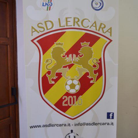 Logo ASD LERCARA e alcuni sponsor